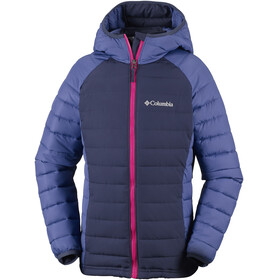 Columbia Powder Lite Hooded Jacket Girls Nocturnal/Eve